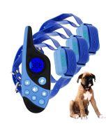 2021 Novo 500m Electric Dog Training Collar Pet Remote Control Waterproseable com display LCD para som de vibração de choque de todos os tamanhos