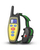 2020 NOVO 400m Elétrico Auto Dog Training Collars Impermeável Coleira de Cão Recarregável com Controle Remoto Receptor Pet Treinamento