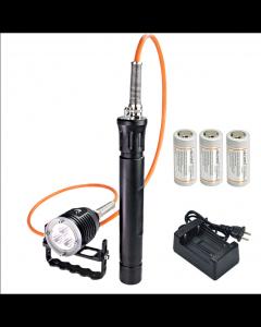 ARCONTE DH30 II & WH36 II 3 * CREE XM-L2 U2 3-modos 3600-Lumes 0m LED cilindro mergulho luz