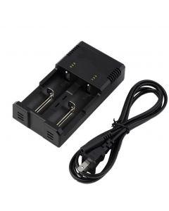 Nitecore i2 Intellicharge Carregador de Bateria Universal Charging Charging Poweriq Design para 18650 14500 AA AAA